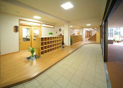 オリジナル家具_玄関ホール